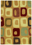 Shaw Living Reverie Go Go 23700 Gold Closeout Area Rug