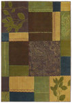 Shaw Living Reverie Josephine 26110 Light Multi Closeout Area Rug