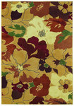 Shaw Living Reverie Paradise 27700 Gold Closeout Area Rug - 2014