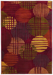 Shaw Living Reverie Sundown 29800 Brick Closeout Area Rug