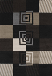 United Weavers Townshend 401 00470 Vibes - Black Area Rug
