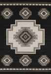 United Weavers Townshend 401 01270 Mountain - Black Closeout Area Rug