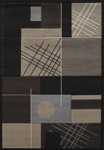 United Weavers Townshend 401 01470 Touche - Black Area Rug