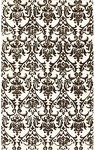 Rug Market Rexford 40287 Marquis White/Black Closeout Area Rug