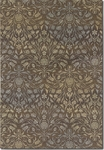 Couristan Dolce 4044/0314 Coppola Brown/Beige Closeout Area Rug