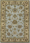 Couristan Castello 4281/0120 Tudor Sky Blue Closeout Area Rug - Summer 2015