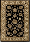Couristan Castello 4281/0131 Tudor Black Closeout Area Rug - Summer 2015