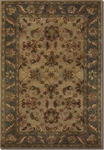 Couristan Castello 4282/0114 Guinevere Latte/Jade Closeout Area Rug - Summer 2015