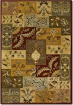 Couristan Castello 4283/0117 Aragon Multi Closeout Area Rug - Summer 2015