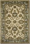 Couristan Castello 4285/0003 Devon Ivory/Sky Blue Closeout Area Rug - Summer 2015