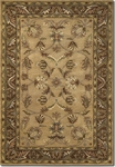Couristan Castello 4287/0134 Beaumont Beige/Sage Closeout Area Rug - Summer 2015