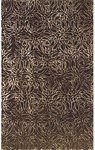 Rug Market Rexford 44010 Alsion Black/Brown Closeout Area Rug