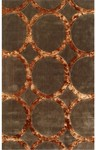 Rug Market Rexford 44156 Hedy Brown/Copper Closeout Area Rug