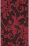 Rug Market Rexford 44250 Corinthia Brown/Red Closeout Area Rug