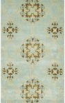 Rug Market Trend-sitional 44259 Beacon Hill Teal/Brown/Yellow Area Rug