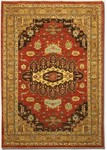 Couristan Chobi 4434/3444 Heriz Rust/Brown Closeout Area Rug - Spring 2011