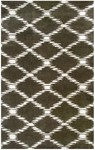 Rug Market Geometrique 44378 Scale Brown Chocolate/Cream Area Rug