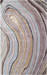 Rug Market Beyond Texture 44525 Rock Multi/Lavender/Cream Area Rug