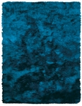 Feizy Indochine 4550F TEL Teal Area Rug