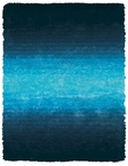 Feizy Indochine 4551F BLU Blue Closeout Area Rug
