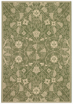 Capel Finesse 4699-250 Garden Maze Leaf Green Area Rug