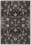 Capel Finesse 4699-350 Garden Maze Black Area Rug