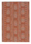 Capel Finesse 4722-850 Mali Cloth Persimmon Area Rug