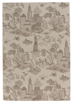 Capel Finesse 4723-675 NY Toile Barley Area Rug