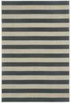 Capel Finesse 4730-375 Stripe Noir Area Rug