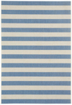 Capel Finesse 4730-440 Stripe Capri Blue Area Rug