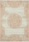 Capel Finesse 4732-825 Mandala Persimmon Closeout Area Rug