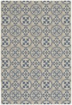 Capel Finesse 4737-440 Tile Capri Blue Area Rug