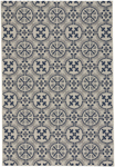 Capel Finesse 4737-475 Tile Navy Area Rug