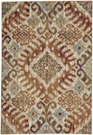 Capel Beckett 4818-800 Diamond Amber Area Rug