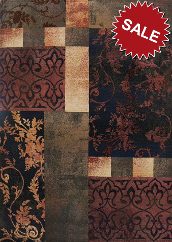 Oriental Weavers Luxor 0049a Multi Closeout Area Rug