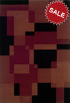 Oriental Weavers Genre 501K8 Red Closeout Area Rug