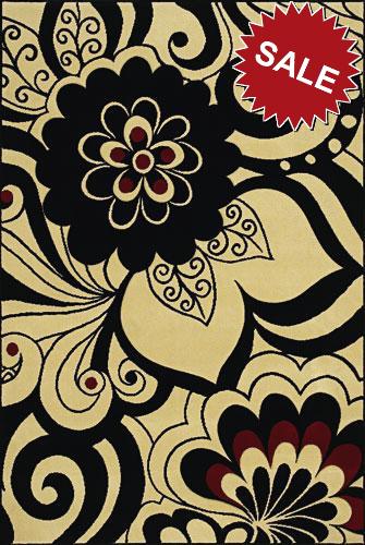 Oriental Weavers Andy Warhol Pure 504x Flowers Ivory