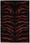 United Weavers Contours 510 20034 Wild Thing Burgundy Closeout Area Rug