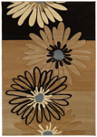 United Weavers Contours 510 20251 Dahlia Chocolate Closeout Area Rug