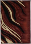 United Weavers Contours 510 20429 Blaze Terracotta Area Rug