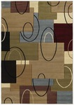 United Weavers Contours 510 20566 Cha Cha Smoke Blue Closeout Area Rug