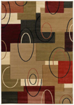 United Weavers Contours 510 20590 Cha Cha Cream Closeout Area Rug
