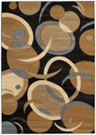 United Weavers Contours 510 20651 Tango Chocolate Closeout Area Rug