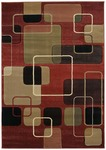 United Weavers Contours 510 22929 Ritz Terracotta Closeout Area Rug