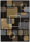 United Weavers Contours 510 22966 Ritz Smoke Blue Closeout Area Rug