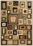 United Weavers Contours 510 23359 Marrakesh Toffee Area Rug