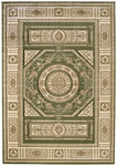 United Weavers Contours 510 23745 Camryn Green Closeout Area Rug