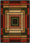 United Weavers Contours 510 25029 Ambience Terracotta Area Rug