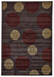Feizy Saphir 3795F Dark Chocolate Closeout Area Rug