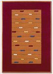 Couristan Metropolis 5153/4264 Fiesta/Red Closeout Area Rug